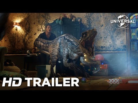 Jurassic World: Reino Ameaçado - Trailer Internacional 3 (Universal Pictures) HD